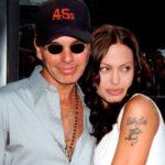 Angelina Jolie with ex husband Billy Bob Thornton