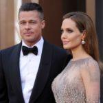 Angelina Jolie with ex-husband Brad Pitt