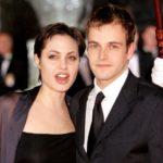 Angelina Jolie with ex-husband Jonny Lee Miller