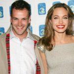 Angelina Jolie with ex-husband Jonny Lee Miller image