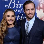 Armie Hammer with his wife Elizabeth Chambers