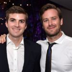 Armie Hammer with his younger brother Viktor Hammer