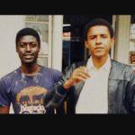 Barack Obama with brother Abo Obama
