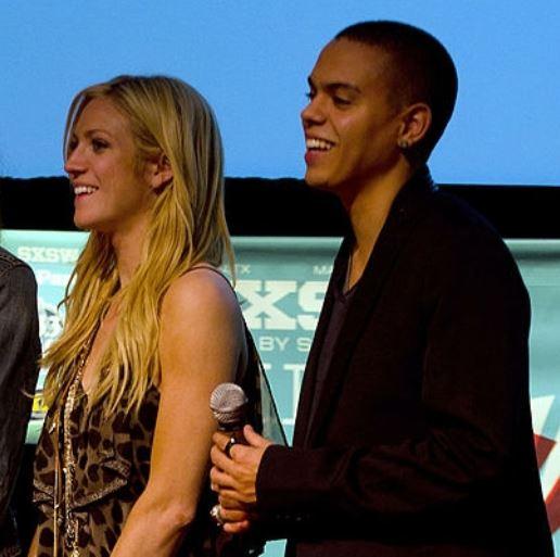 Brittany snø dating Evan Ross