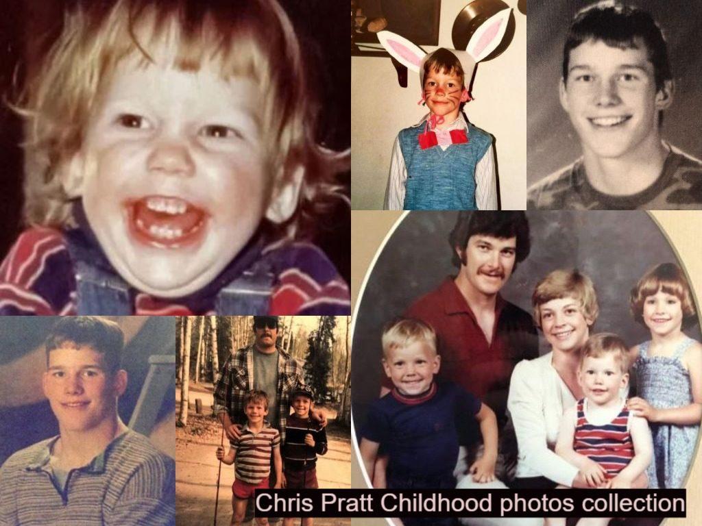 Chris Pratt Childhood photos collection