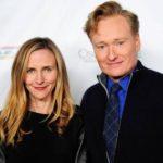 Conan O'Brien with wife Elizabeth Ann Powel