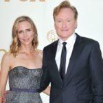 Conan O'Brien with wife Elizabeth Ann Powel image