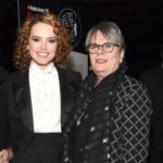Daisy Ridley with her mother Louise Fawkner-Corbett