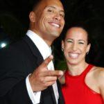 Dwayne Johnson with ex wife Dany Garcia