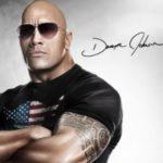 Dwayne Johnson signature
