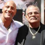 Dwayne Johnson with his father Rocky Johnson
