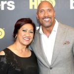 Dwayne Johnson with his mother Ata Johnson