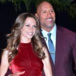 Dwayne Johnson with his wife Lauren Hashian