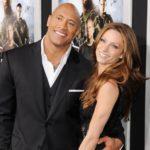 Dwayne Johnson with wife Lauren Hashian