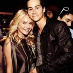 Dylan O'Briena and Britt Robertson together