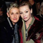 Ellen DeGeneres with wife Portia de Rossi