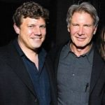 Harrison Ford with son Ben Ford