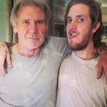 Harrison Ford with son Malcolm Ford