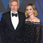 Harrison Ford with wife Calista Flockhart
