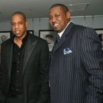 Jay-Z with brother Eric Carter