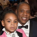 Jay-Z with daughter Blue Ivy Carter