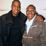 Jay-Z with mother Gloria Carter