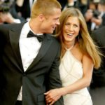 Jennifer Aniston with his ex-husband Brad Pitt