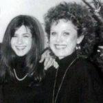 Jennifer Aniston with mother Nancy Dow image