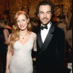 Jessica Chastain with husband Gian Luca Passi de Preposulo
