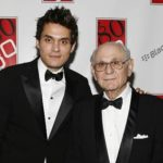 John mayer with his father Richard Mayer