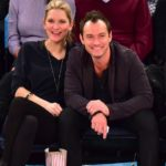 Jude Law with wife Phillipa Coan