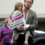 Jude law with daughter Sophia Law