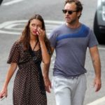 Jude law with his daughter Iris Law