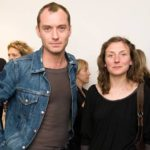 Jude law with his sister Natasha Law