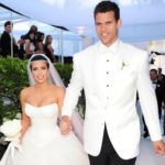 Kim Kardashian and ex husband Kris Humphries marrriage photo