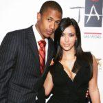 Kim kardashian and Nick Cannon dated