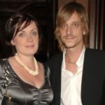 Mackenzie Crook with his wife Lindsey Crook