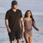Matt Damon with daughter Alexia Barroso