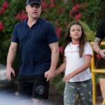 Matt Damon with daughter Gia Zavala Damon