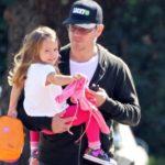 Matt Damon with daughter Stella Damon
