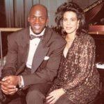 Michael Jordan with ex-wife Juanita Jordan