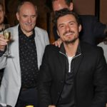 Orlando Bloom with his father Colin Stone