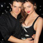 Orlando Bloom with his former wife Miranda Kerr