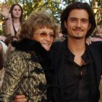 Orlando Bloom with his mother Sonia Constance Josephine