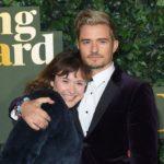 Orlando Bloom with his older sister Samantha Bloom