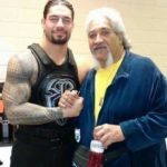 Roman Reigns with his father Sika Anoa'i
