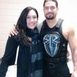 Roman Reigns with his sister Vanessa Anoa'i