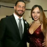 Roman Reigns with his wife Galina Becker