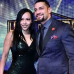 Roman Reigns with his wife Galina Becker image