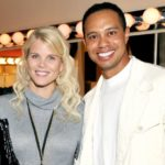 Tiger Woods with his ex-wife Elin Nordegren image